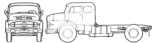 Mercedes-Benz LAS 1920 (1964)