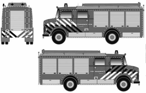 Mercedes-Benz LF1113 B-36 Fire Truck (1974)