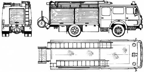 Mercedes-Benz LH Fire Truck (1984)