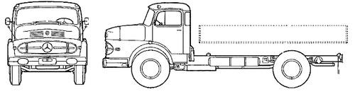 Mercedes-Benz LK 1920 (1964)