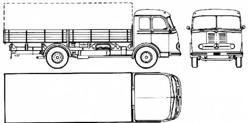 Mercedes-Benz LP315 (1955)