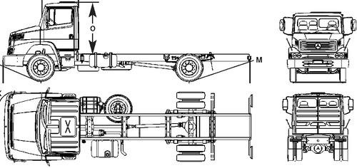 Mercedes-Benz LS 1318 (2005)