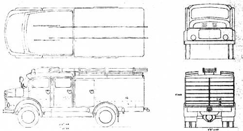 Mercedes-Benz Special Fire Truck (1964)