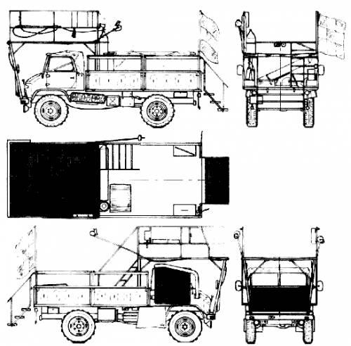 Mercedes-Benz Unimog 404 (1954)
