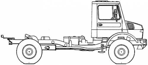 Mercedes-Benz Unimog U1300L-37 (2006)