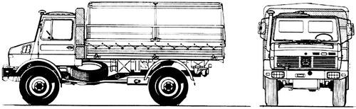Mercedes-Benz Unimog U1500L (1994)