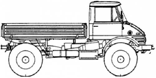 Mercedes-Benz Unimog U416