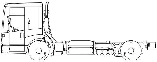 Mercedes Econic 1828 LL NGT