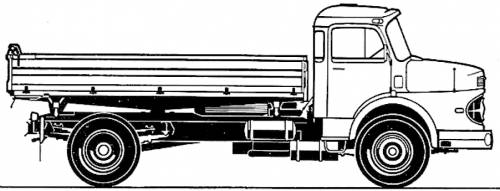 Mercedes LAK 1624 (1973)