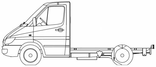 Mercedes Sprinter 2 Chassis