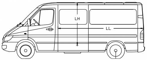 Mercedes Sprinter 3 CDI 4x4