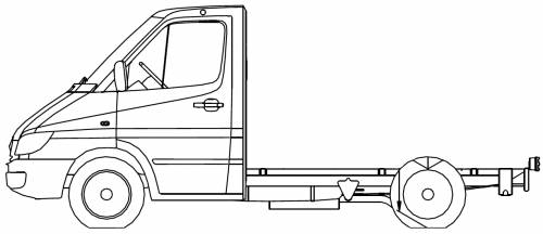 Mercedes Sprinter 3 CDI Chassis
