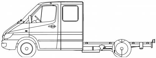 Mercedes Sprinter 4 CDI Chassis
