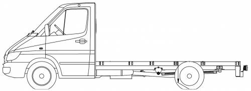 Mercedes Sprinter 616 Chassis