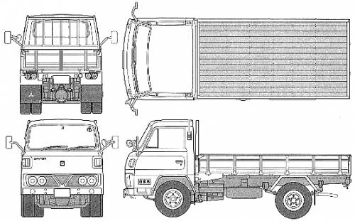 Mitsubishi-Fuso Canter T200 (1975)