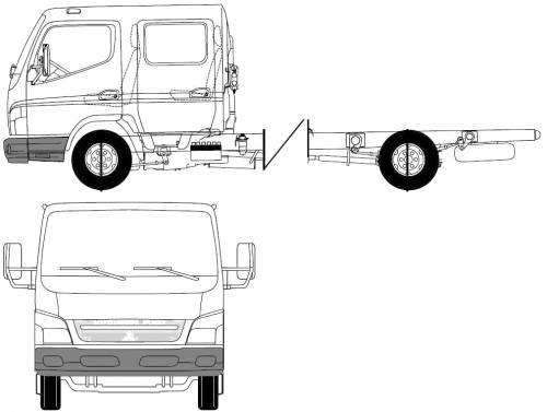 Mitsubishi-Fuso Canter Twin-Cab (2007)
