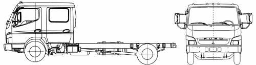 Mitsubishi-Fuso FE145 Crew