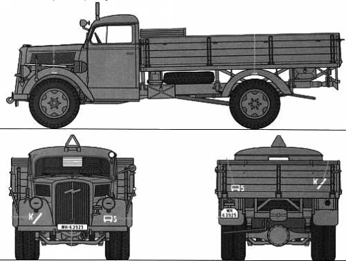 Opel Blitz 3-ton 4x2