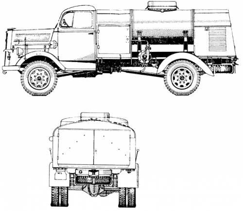 Opel Blitz T-Stoff tanker
