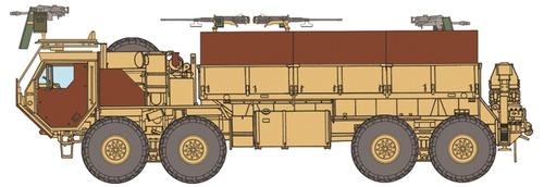 Oshkosh HEMTT Gun Truck