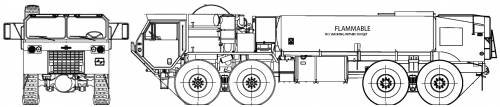 Oshkosh HEMTT M978 A2 Fuel Tanker (2006)