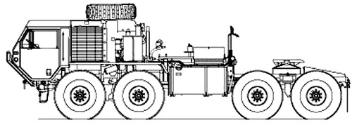 Oshkosh HEMTT M983A4 Tractor