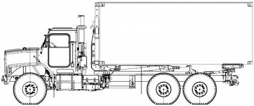 Oshkosh LHS 9ton 6x6 (2006)