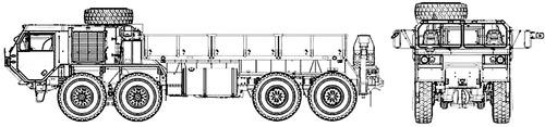 Oshkosh M977A4 HEMTT 8x8