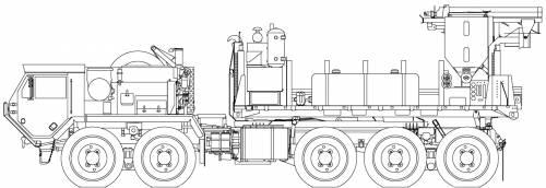 Oshkosh PLS M5 Concrete Mixer (2006)