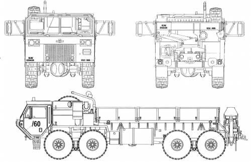 Oskosh M977 8x8 Cargo