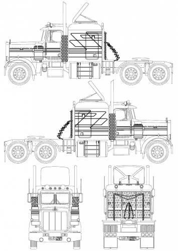 225782 Royalty Free Big Rig Clipart Illustration furthermore Truck Coloring Pages further Peterbilt 359 together with 1962 Reo Truck For Sale furthermore Peterbilt 386 Body Parts Diagram. on peterbilt cabover trucks