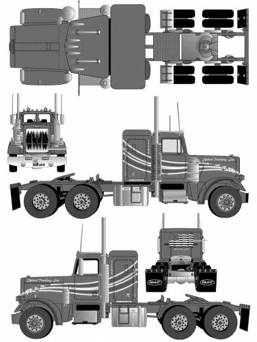 C41a14925126d6e9 moreover Watch as well Watch in addition Mack granite ihc 7600 boom csx likewise Facts About Trucks. on mack dump truck trailer