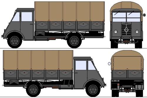 Renault AHN 3.5-ton 4x2 Truck (1940)