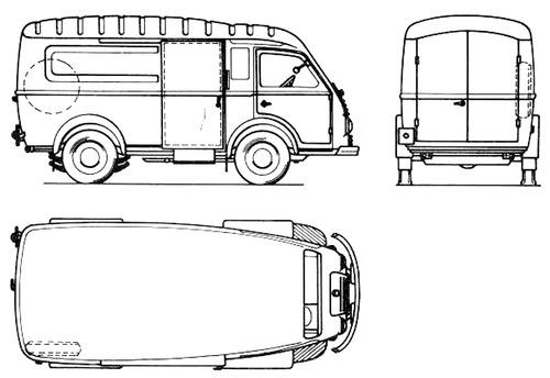 Renault Goelette Fourgon A