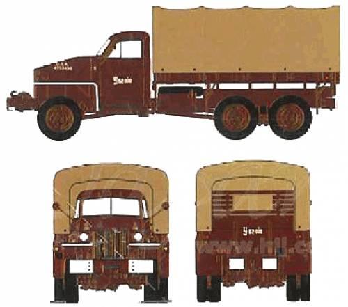 Studebaker US-6 2.5 ton 6x6