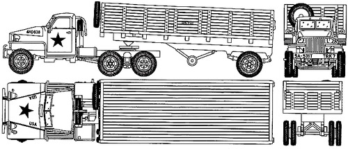Studebaker US-6 Semi Trailer