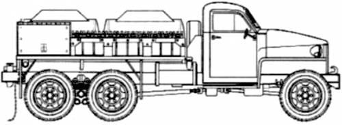 Studebaker US 6 Tanker