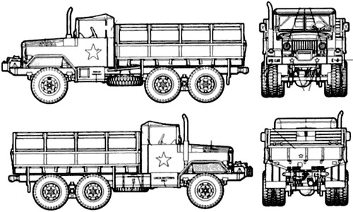 AM General M35 2.5 ton 6x6 Truck