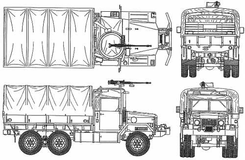 AM General M35A2 2.5 ton