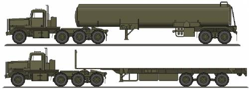 AM General M920 Semi Trailer