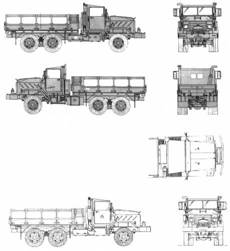 AM General M-925 5t 6x6