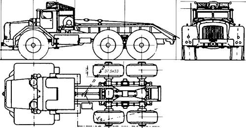 Berliet T100 6x6 (1958)