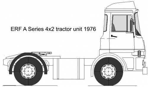 ERF A series tractor unit 4x2 (1976)