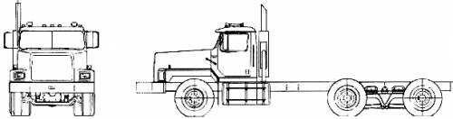 Hendrickson VT-100 Concrete Mixer