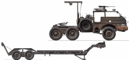 M24 Dragon Wagon and M15 Trailer