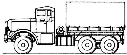 Mack NM 6x6 (1943)