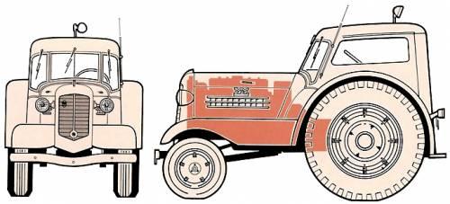 Minneapolis-Moline UDLX Aero Tractor (1938)