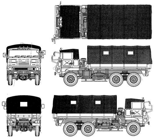 Mitsubishi Type 73 JGSDF 3.5t Truck