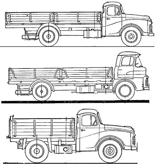 Morris 5 Ton Truck (1960)