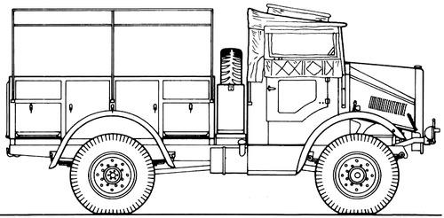 Morris Comercial C8 4x4 15cwt GS